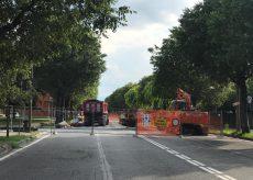 La Guida - Corso De Gasperi chiuso per lavori