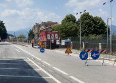 La Guida - Cantiere per la pista ciclabile su Lungo Stura