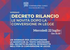 La Guida - Un seminario on line per approfondire il Decreto Rilancio
