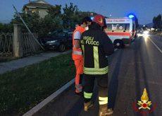 La Guida - Auto fuori strada, un morto a Villaggio Colombero