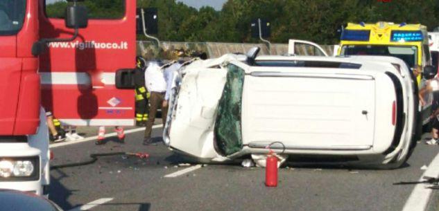 La Guida - Doppio incidente sull'autostrada Torino-Savona in zona Mondovì