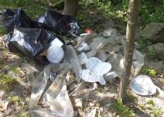 La Guida - Pradeboni, l'area delle Meschie ricoperta di rifiuti