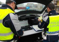 La Guida - Cuneo: controlli della Polizia Locale sull'asse centrale cittadino