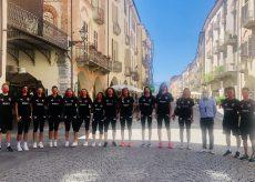 La Guida - Le giocatrici del Granda Volley in giro per Cuneo