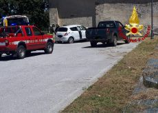 La Guida - Auto contro un muro a Vicoforte, ferita una persona