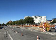 La Guida - Corso De Gasperi riapre a una sola corsia da Cuneo verso Borgo