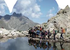 La Guida - I ragazzi cuneesi del Cai testimonial della montagna