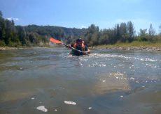 La Guida - Farigliano: scava una zucca gigante e fa rafting sul Tanaro