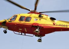 La Guida - A Piasco 83enne in gravi condizioni per la caduta da un albero