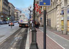 La Guida - Nuovi asfalti in corso Nizza e via Vittorio Amedeo II