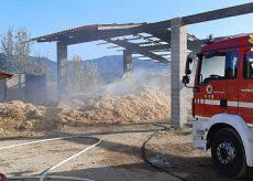 La Guida - Incendio in un fienile a Bagnasco