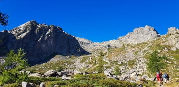 La Guida - Tete du Vallonet, Rocca e Guglia di San Bernolfo, colle Feuillas e colle Scaletta
