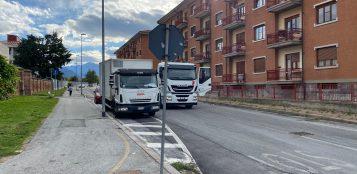 La Guida - Torna percorribile alle auto via Vecchia di Borgo