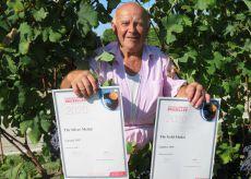 La Guida - Il patriarca festeggia 65 anni in vigna con due medaglie mondiali