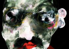 La Guida - I volti deformati alla Bacon di Luca Giordana