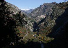 La Guida - Chiusa per frana la strada della Valle Roya