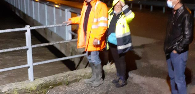 La Guida - A Clavesana evacuate 200 persone delle borgate Gerino, Goretti, La Pra e via Generala (video)