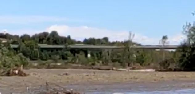 La Guida - Sotto controllo la situazione lungo il fiume Gesso a Cuneo (video)