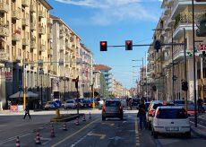 La Guida - Corso Nizza, le corsie sono rimaste due ma i semafori sono tre