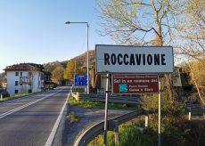 La Guida - Cantiere e senso unico alternato sulla SS20 all'ingresso di Roccavione