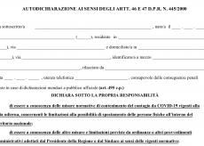 La Guida - Coprifuoco Piemonte, ecco la nuova autocertificazione per gli spostamenti