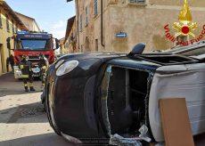 La Guida - Scontro tra auto a Cherasco
