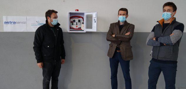 La Guida - Un defibrillatore a disposizione di tutti alla sede di Astra Cuneo