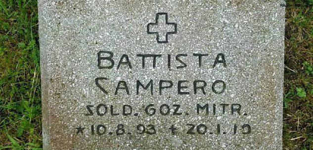 La Guida - Giovanni Battista Campero, un soldato di Prea morto oltre un secolo fa