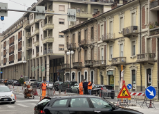 La Guida - Finito lo spostamento degli isolotti e dei semafori in corso Nizza
