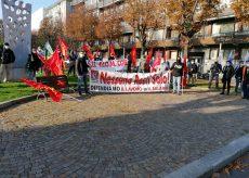 La Guida - Metalmeccanici in sciopero e presidio davanti a Confindustria Cuneo