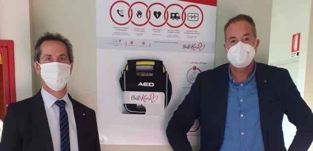 La Guida - Defibrillatori nella sede cuneese e in quella albese della Cisl