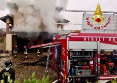La Guida - In fiamme seminterrato di una casa a Diano d'Alba