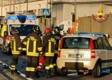 La Guida - Scontro frontale tra due vetture a Cinzano