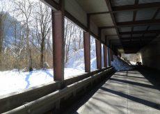 La Guida - Reti ferma neve sopra i paravalanghe della strada per Sant'Anna di Valdieri