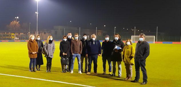 La Guida - Completato il nuovo campo sportivo in sintetico a Centallo