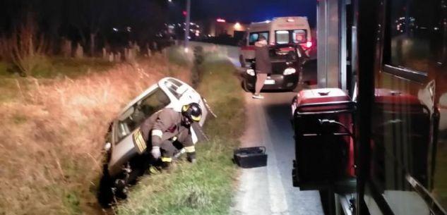 La Guida - Incidente stradale all'incrocio tra Margarita e Beinette