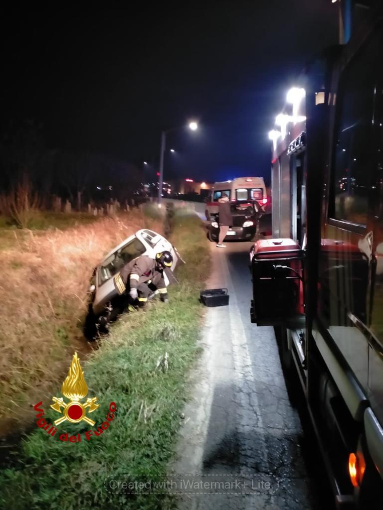 Incidente stradale incrocio Margarita e Beinette