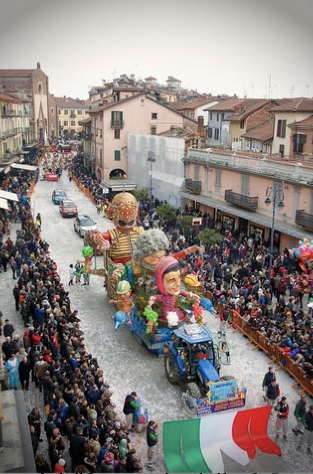 Saluzzo - sfilata di Carnevale