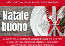 """La Guida - Busca si impegna per donare pranzi con il """"Natale buono"""""""