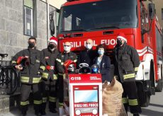 La Guida - Dai Vigili del fuoco, regali per i bambini ricoverati (video)