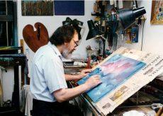 La Guida - L'ultimo saluto di Bra al pittore Adriano Moretti