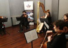 """La Guida - Quartetto d'archi e arpa per """"Adotta un artista"""""""