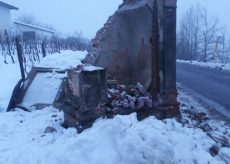 La Guida - Monforte: camion distrugge pilone votivo