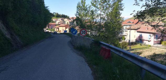 La Guida - Provincia, lavori per sistemare la strada a Panirole di Monforte