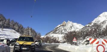 La Guida - Riaperto il transito sul Colle della Maddalena