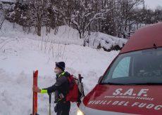 La Guida - Vigili del fuoco e Soccorso alpino recuperano una donna