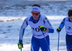 La Guida - Daniele Serra al quarto posto nella Coppa Italia di sci di fondo