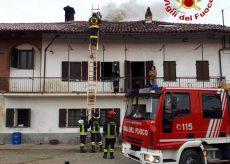 La Guida - Canna fumaria in fiamme a Murello