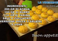 La Guida - Bignè versione salata o dolce (videoricetta)