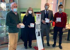 La Guida - Igienizzante e mascherine in dono al Liceo Peano-Pellico